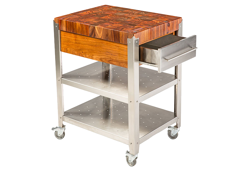 Why choose a Chefs Block Vernazza kitchen cart?